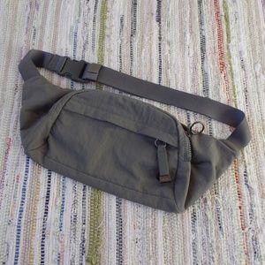 Lululemon On The Beat Belt Bag in Grey Sage